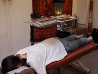 施術の流れ 遠赤外線療法
