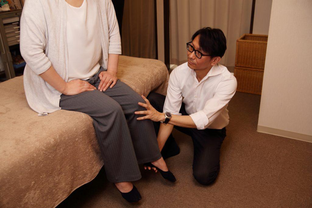 足首・下肢の調整