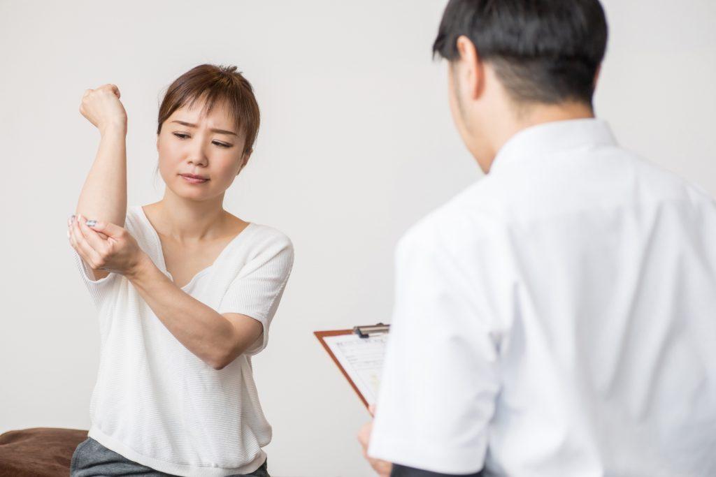肘痛の症状と原因